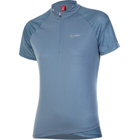Löffler Rise 3.0 Half-Zip Bike Shirt Women, azul